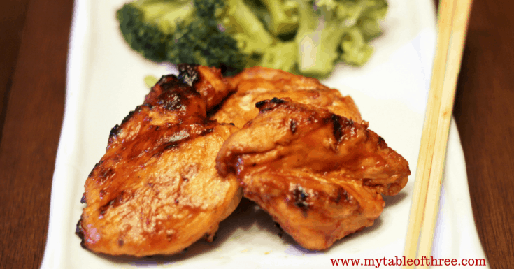 Asian Inspired BBQ Chicken || Low Carb, Gluten Free, THM S
