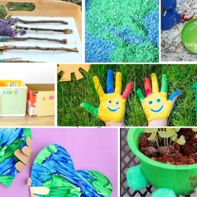 Super Fun Earth Day Crafts For Kids