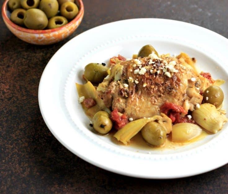 Easy Greek Chicken Bake