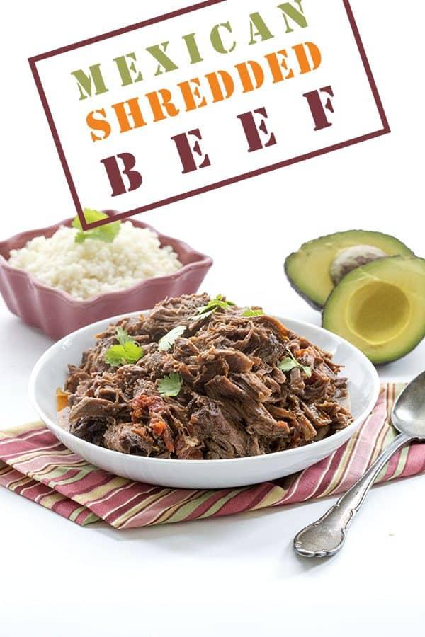 Mexican Shredded Beef - Keto, Paleo