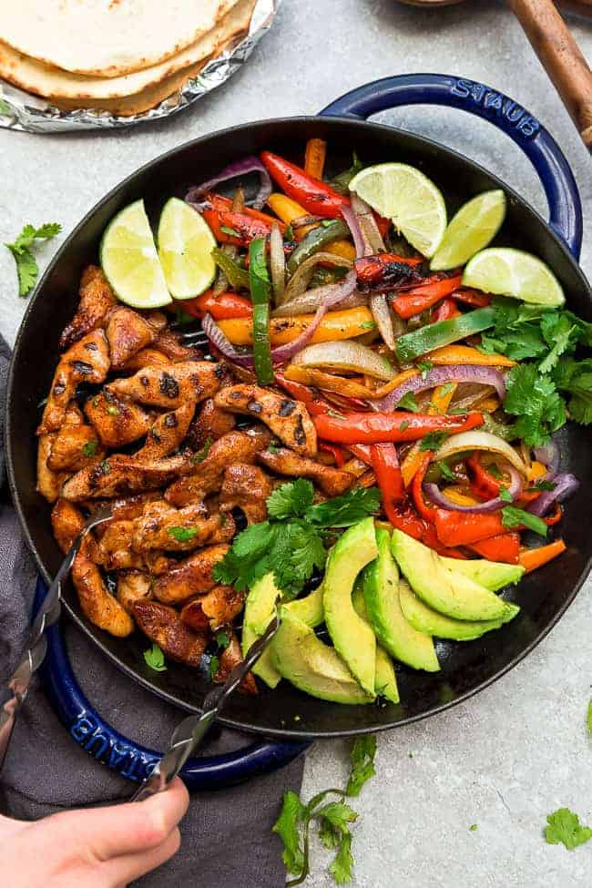 Grilled Chicken Fajitas - Low Carb - Life Made Sweeter