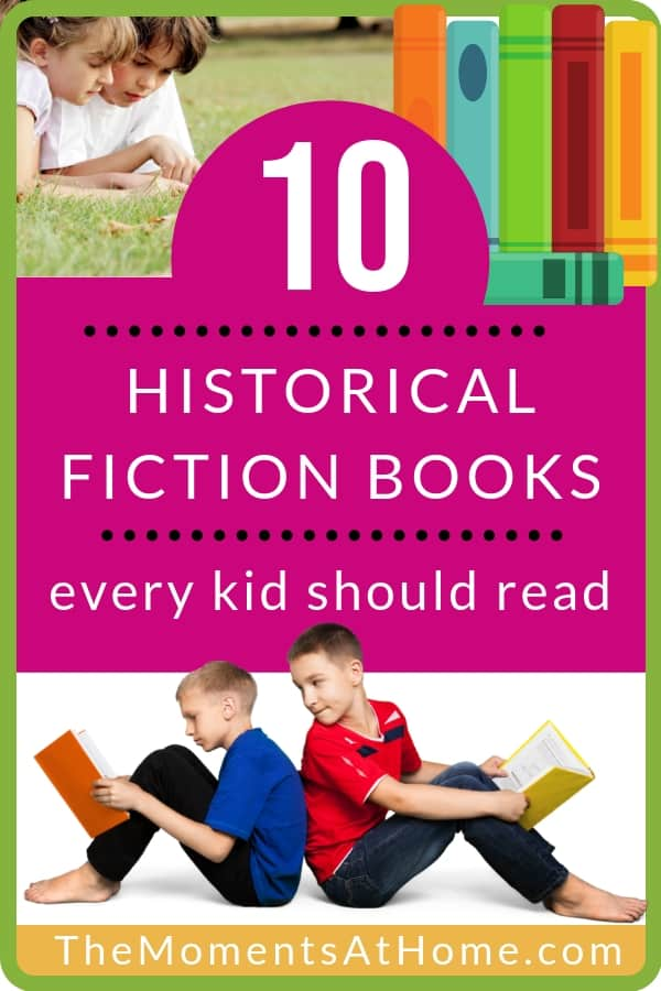 10 historical fiction books every child should read