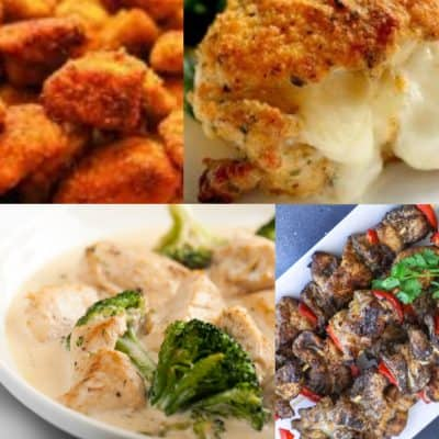 Healthy Chicken Recipes For Dinner (Low Carb, THM)