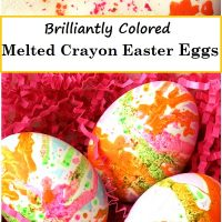 These Melted Crayon Eggs Will Amaze Them
