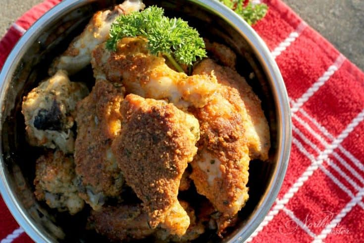 Parmesan Chicken Wings