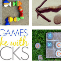 10 DIY Outdoor Games to Make with Rocks