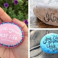 100+ Kindness Rock Painting Ideas & Sayings