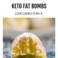 Lemon Cheesecake Bites (Keto Fat Bombs)