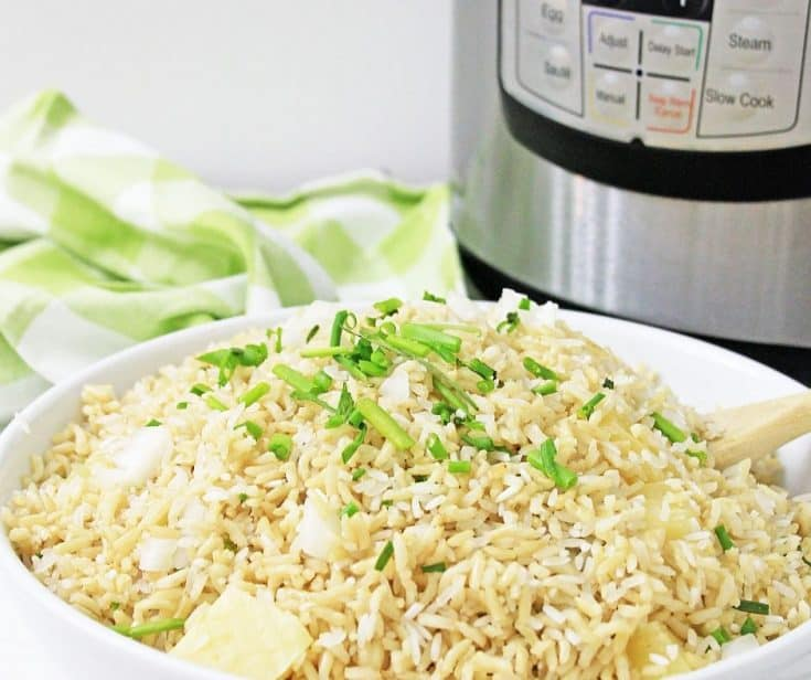 Seasoned Instant Pot Basmati Rice
