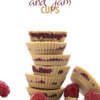 Peanut Butter and Jam Cups - aka Fat Bombs