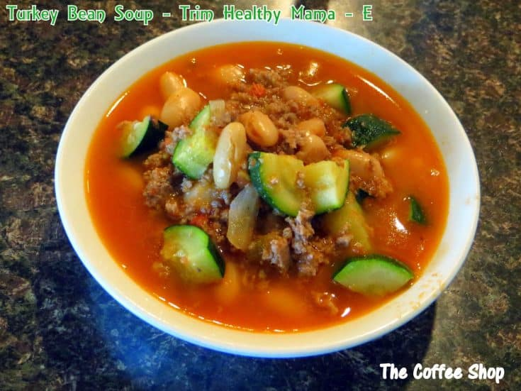 Turkey Bean Soup - Another amazing E meal