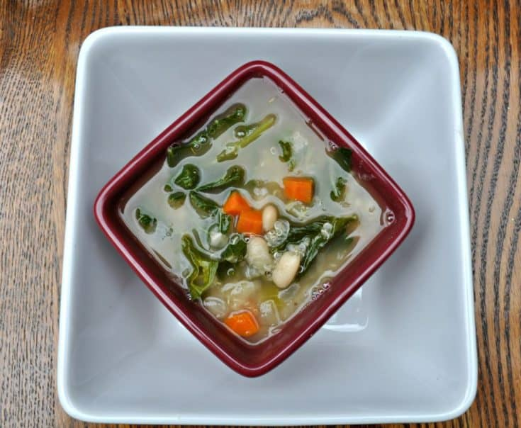 Quinoa, Kale & White Bean Soup