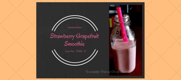 Strawberry Grapefruit Smoothie