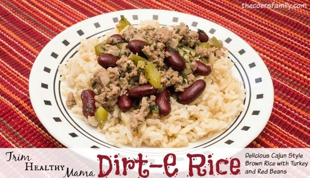 Trim Healthy Mama style Dirt-E Rice